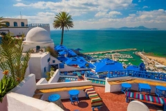 Сиди-Бу-Саид - город в Тунисе