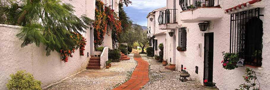 Улочки Андалусии в Испании
